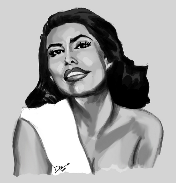 Speed Painting: Grayscale Glamor