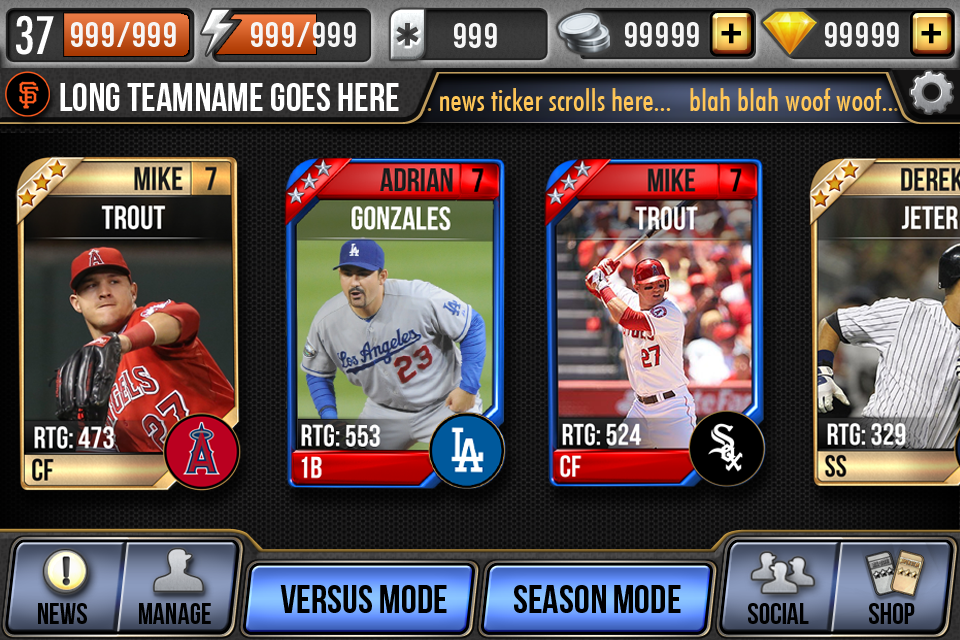 MLB: Full Deck